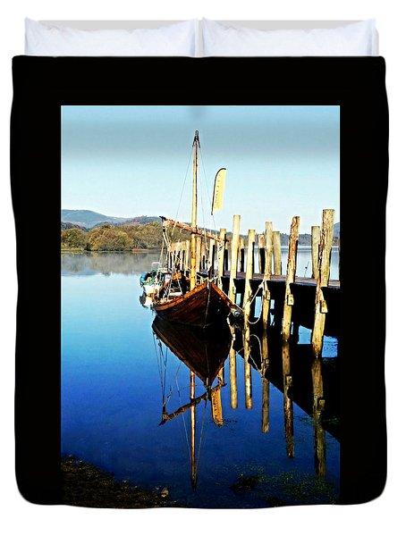 Derwent Water Boat Duvet Cover