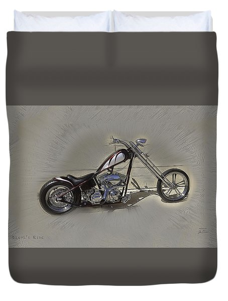 Deryls Ride Duvet Cover