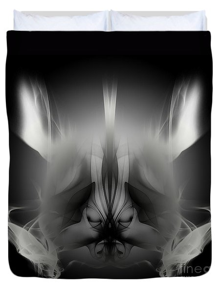 Descent Duvet Cover by Clayton Bruster