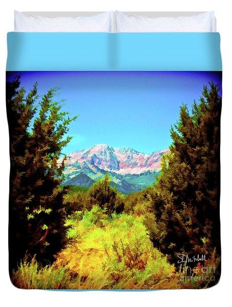 Deseret Peak Duvet Cover