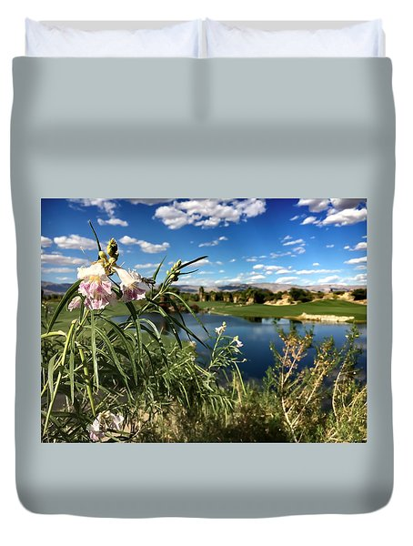 Desert Beauty  Duvet Cover by Chris Tarpening