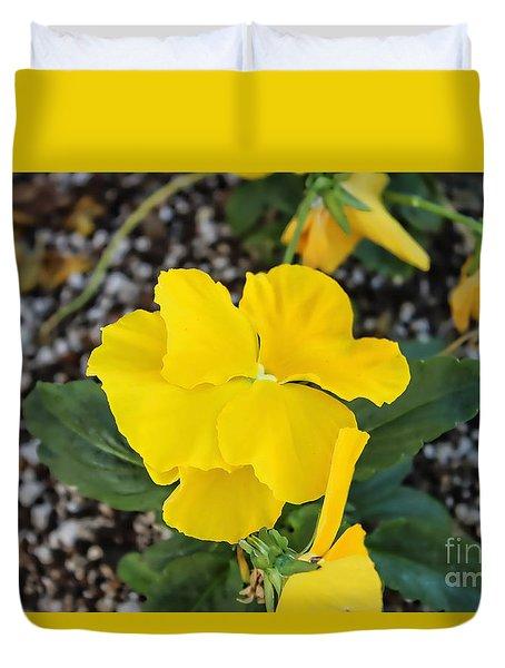 Floral Desert Beauty Duvet Cover
