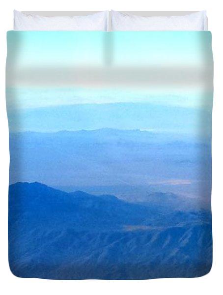 Desert Blues Duvet Cover