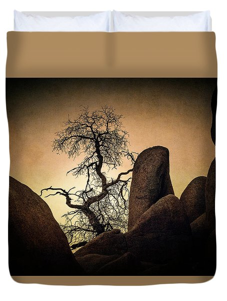 Desert Bonsai II Duvet Cover