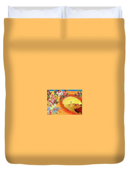 Desert Bridge Duvet Cover