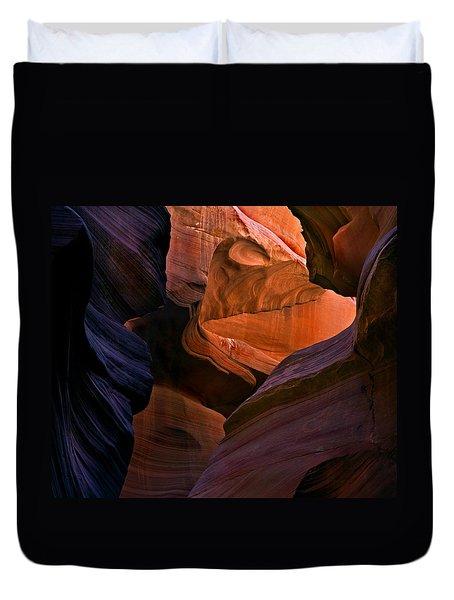 Desert Bridge Duvet Cover by Mike  Dawson