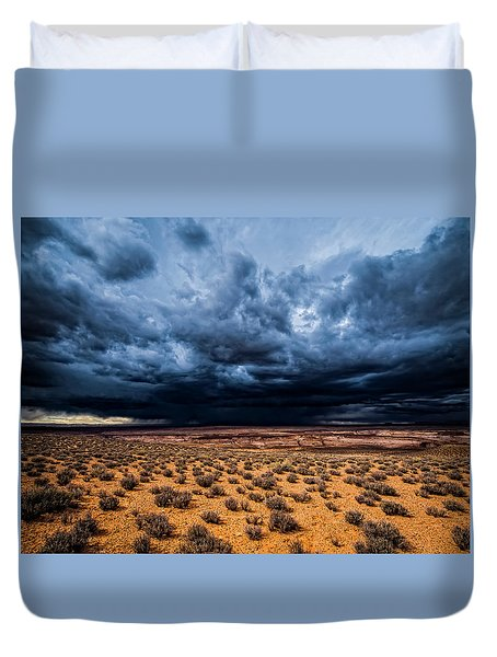 Desert Clouds Duvet Cover