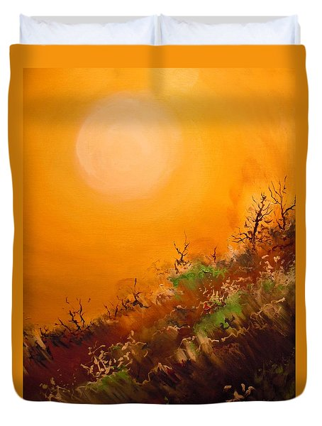 Hot Desert  Evening  Duvet Cover