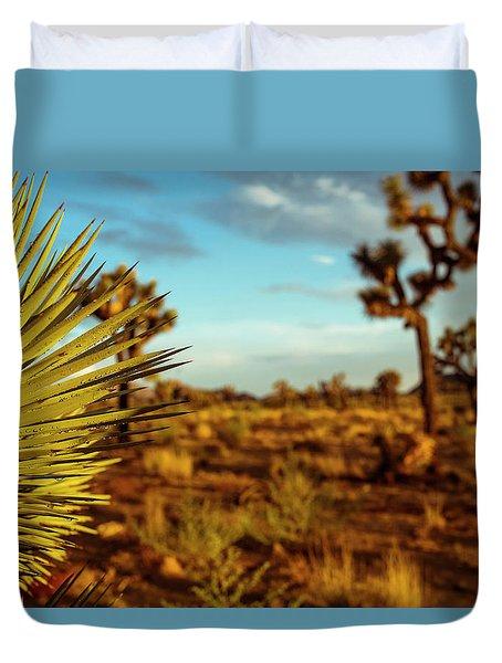 Desert Fan Duvet Cover