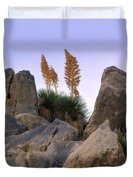 Desert Flags - Cropped Version Duvet Cover
