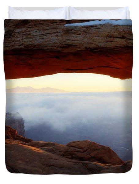 Desert Fog Duvet Cover
