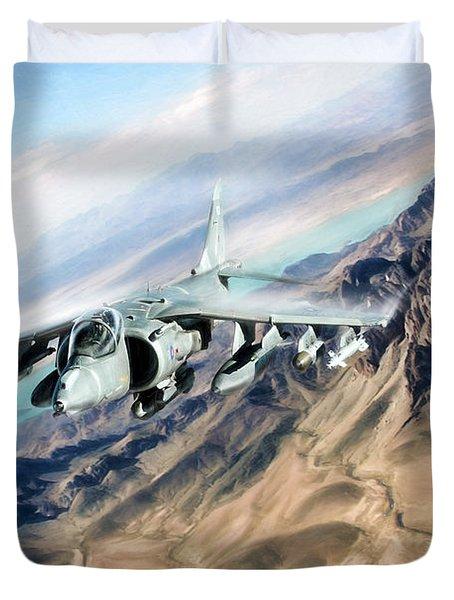 Desert Fox Harrier Duvet Cover