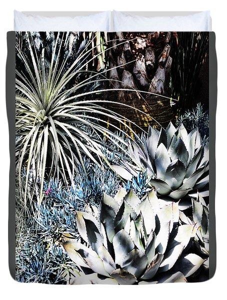 Desert Garden Duvet Cover by Judy Wolinsky