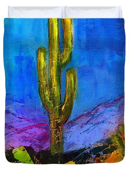 Desert Giant Duvet Cover