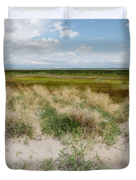 Desert Grass Duvet Cover