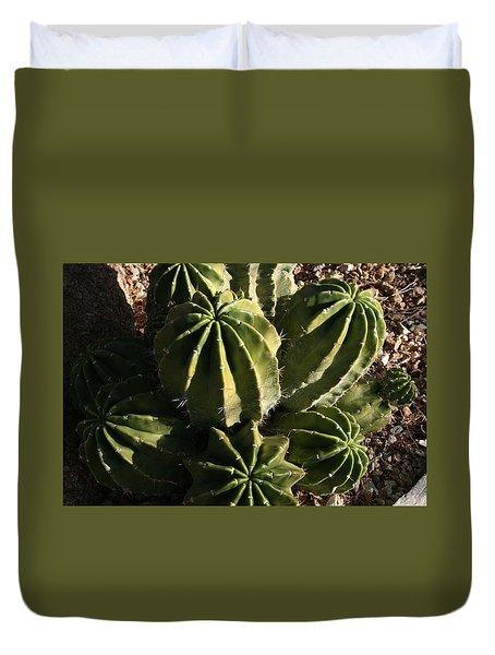 Desert Greens Duvet Cover