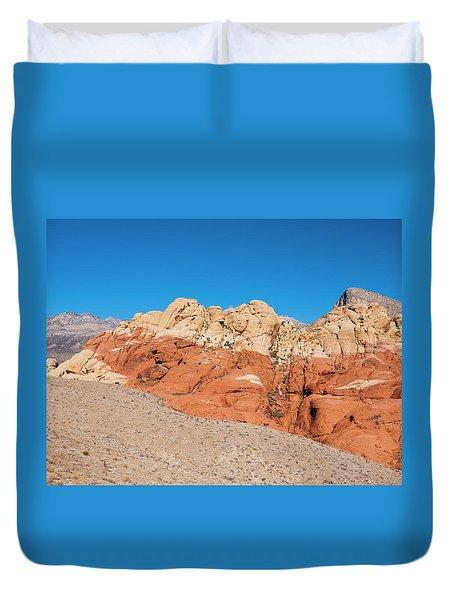 Desert Hills Duvet Cover by Rae Tucker