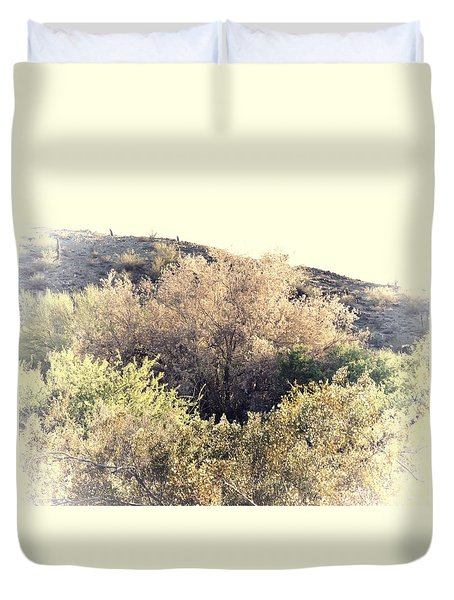 Desert Ironwood Afternoon Duvet Cover