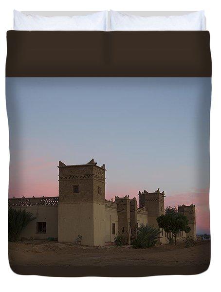 Desert Kasbah Morocco Duvet Cover