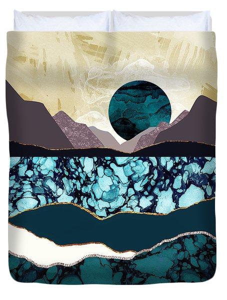 Desert Lake Duvet Cover