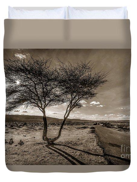 Desert Landmarks  Duvet Cover