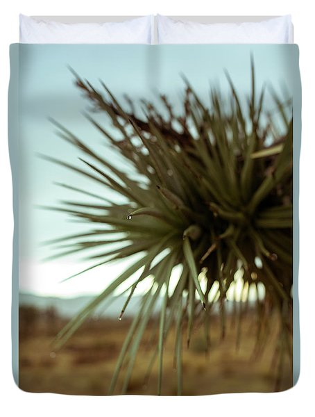 Desert Leaves Duvet Cover