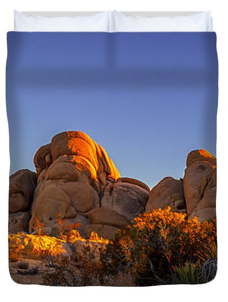 Desert Light Duvet Cover