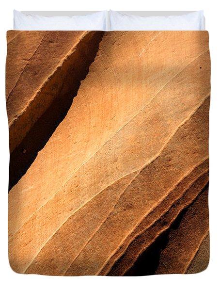 Desert Lines Duvet Cover
