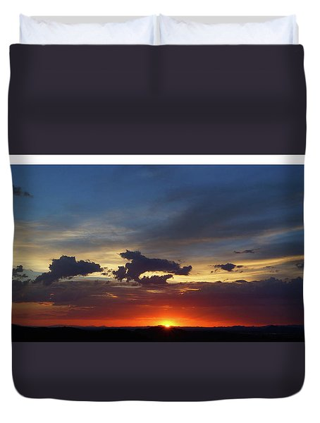 Desert Memories Duvet Cover