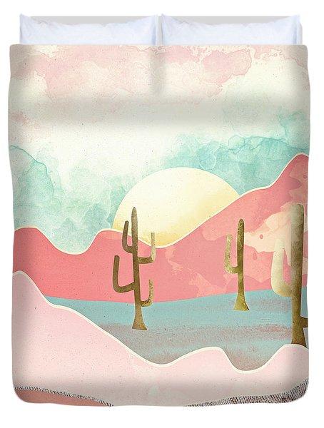Desert Mountains Duvet Cover