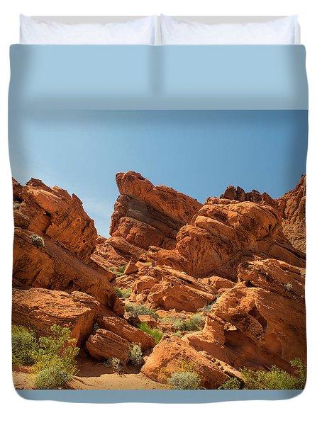 Desert Paradise Duvet Cover