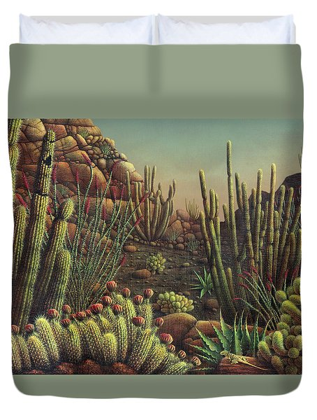 Desert Potpourri  Duvet Cover