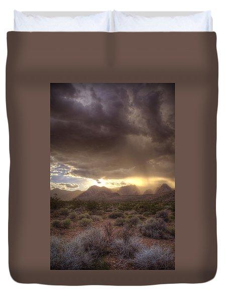 Desert Rain Duvet Cover