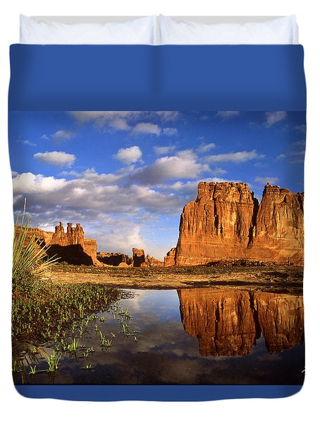 Desert Reflections Duvet Cover