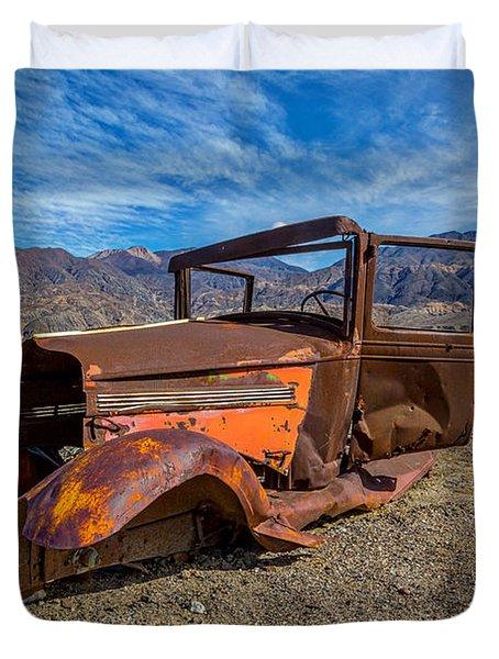 Desert Relic Duvet Cover