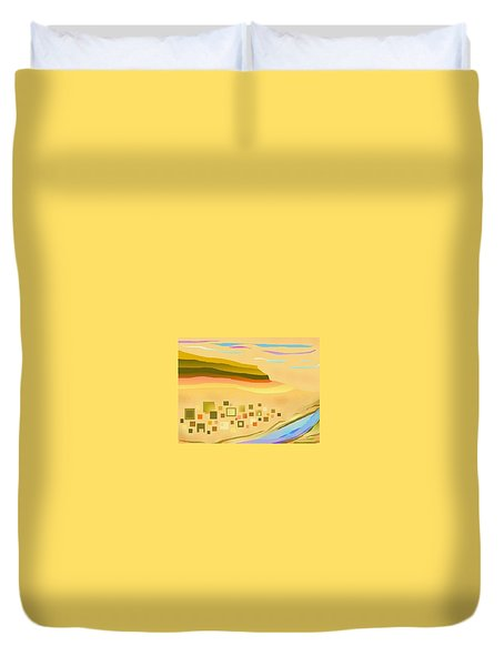 Desert River Duvet Cover