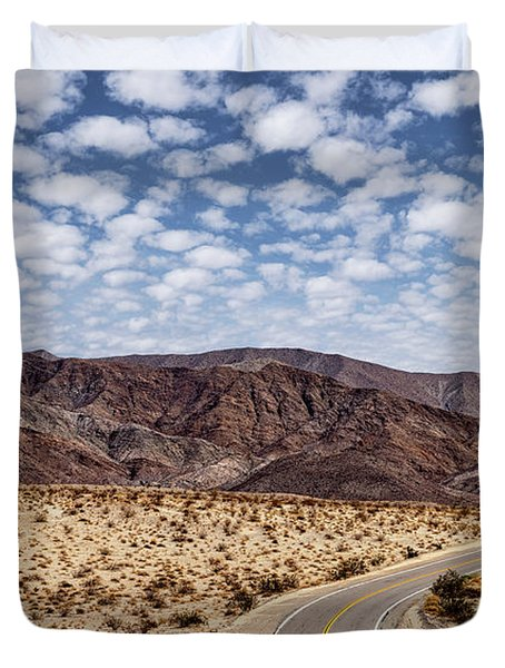 Desert Road 5 Duvet Cover