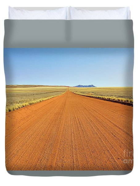 Desert Road Duvet Cover
