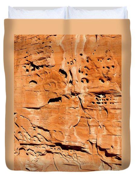 Desert Rock Duvet Cover by Rae Tucker