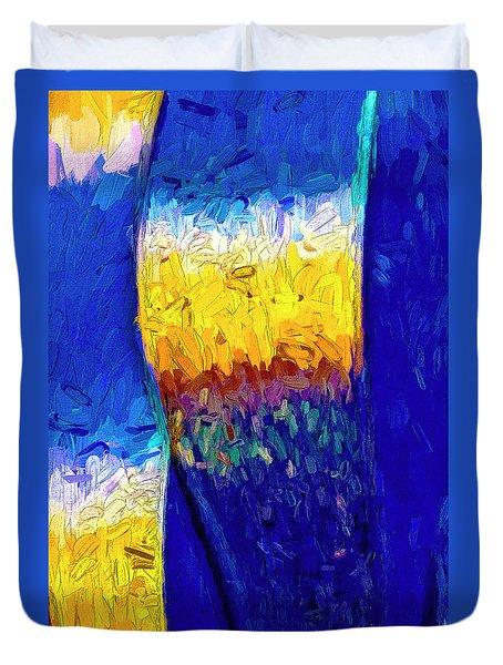 Duvet Cover featuring the photograph Desert Sky 1 by Paul Wear