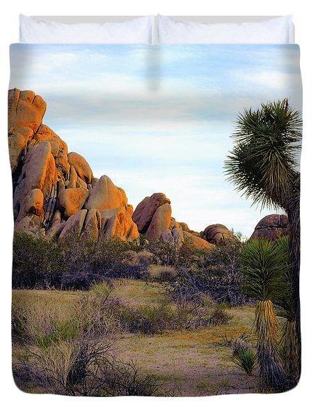 Desert Soft Light Duvet Cover