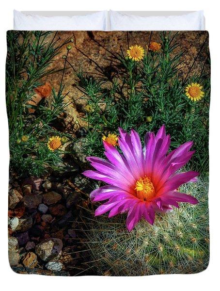 Desert Splash Duvet Cover