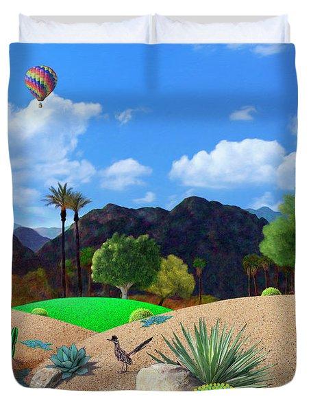 Desert Splendor Duvet Cover by Snake Jagger