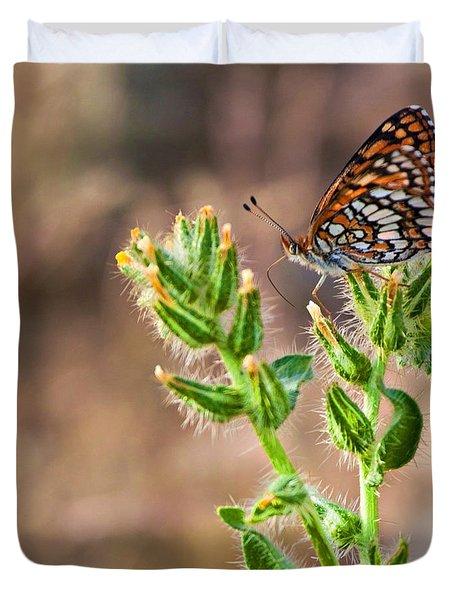 Desert Spring Life Duvet Cover