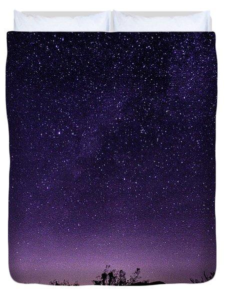 Desert Starscape Duvet Cover