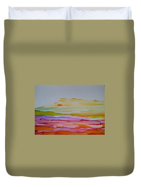 Desert Steppe Duvet Cover