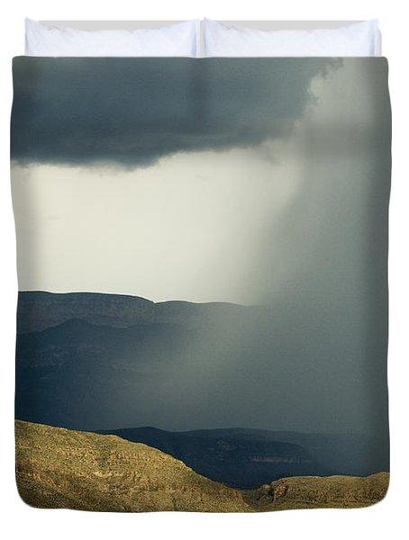 Desert Storm Duvet Cover