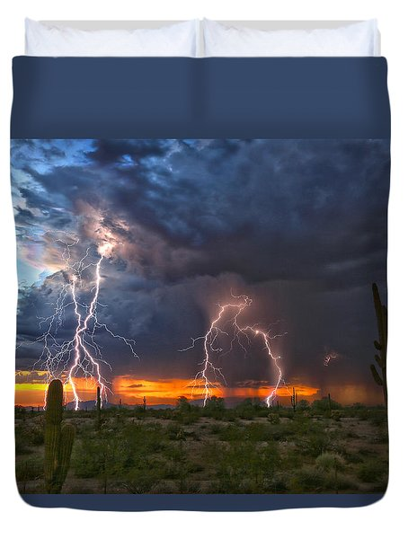 Desert Strike Duvet Cover