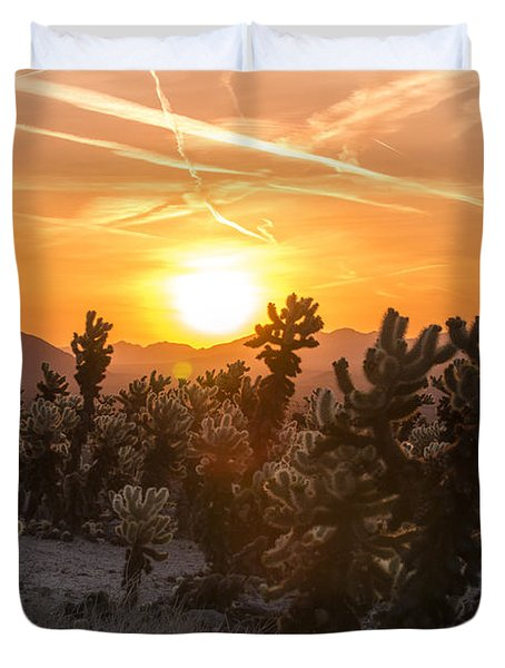 Desert Sunrise Duvet Cover