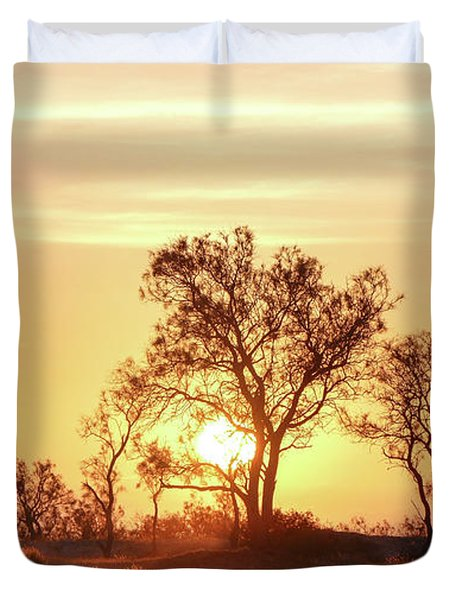 Desert Sunset Duvet Cover
